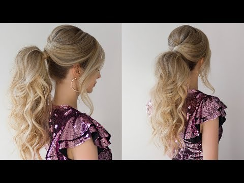 HOW TO: HIGH PONYTAIL | NEW YEARS EVER HAIRSTYLE 2018 thumbnail