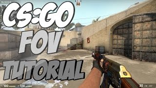 How to change you FOV in CS:GO! | Tutorial | HD