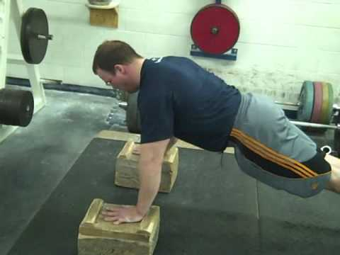 how to build strength for push ups