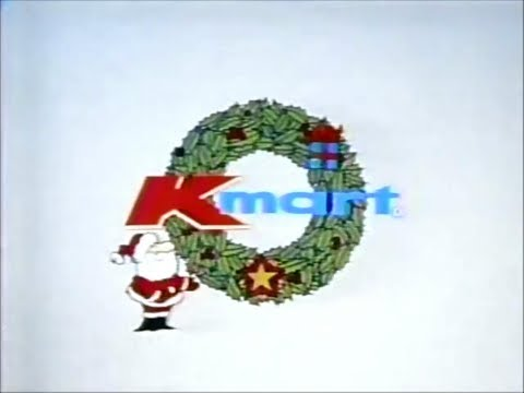 Kmart Department Stores The Christmas Store 1977 Christmas TV Commercial HD