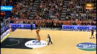Valencia Basket - Barcelona 2ª parte Narración Juan Carlos Villena 2-2-2014