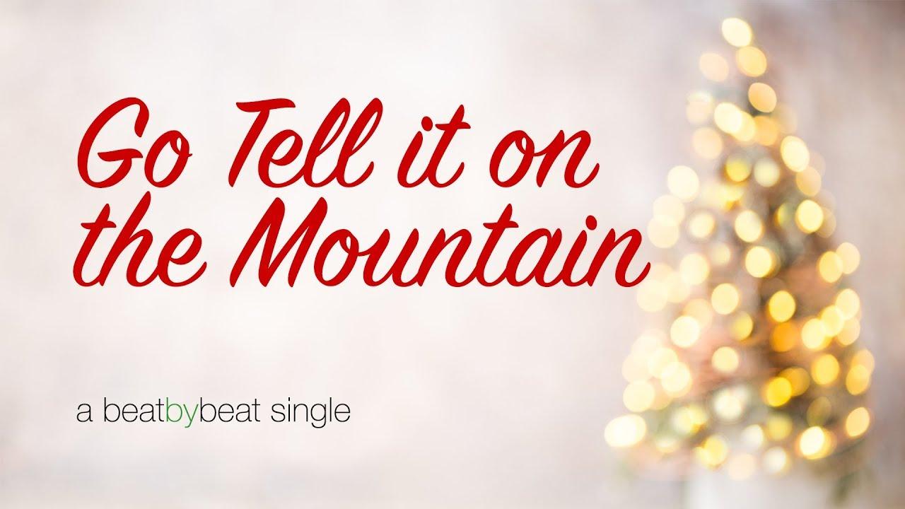 Go Tell it on the Mountain - Karaoke Christmas Song - YouTube