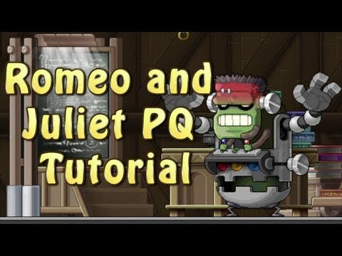 Romeo and Juliet Party Quest | MapleStory | HS MapleGlobal