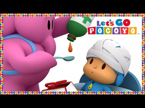 🌡 POCOYO In ENGLISH - Nurse Elly [ Let's Go Pocoyo ] | VIDEOS And CARTOONS FOR KIDS