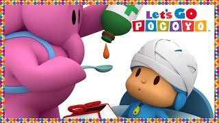 🌡 POCOYO in ENGLISH - Nurse Elly [ Let's Go Pocoyo ]   VIDEOS and CARTOONS FOR KIDS
