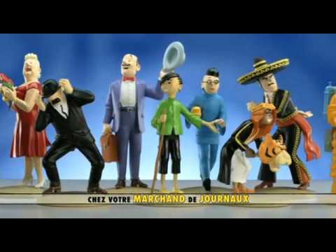 Collection figurines Tintin