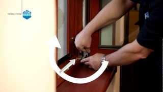 Seřízení a údržba otvíravě-sklopného okna s kováním MACO MULTI-TREND