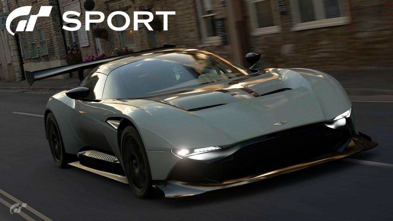 Gt Sport Aston Martin Vulcan Review Youtube