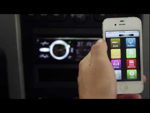 Scosche Car Stereo Receiver with Wireless App Control