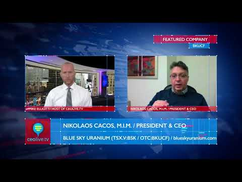 Blue Sky Uranium (OTC:BKUCF) CEO Discusses Positive Results from Amarillo Grande Project