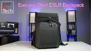 Evecase Shell DSLR Laptop Backpack