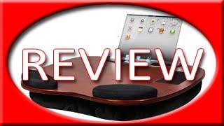 Lapgear 91050 Wood Smart Media Desk Exec Lapdesk