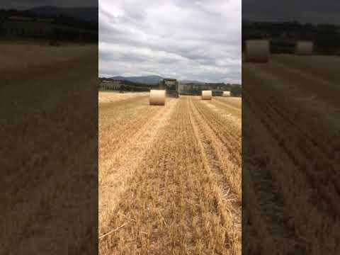 Baling straw 2018 Co. Carlow