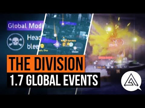 The Division | New Global Events Patch 1.7 Gameplay