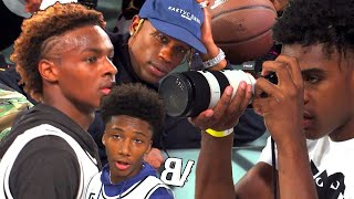 Bronny Jr BALLING In Front Of TRAVIS SCOTT + 8TH Grader WINDMILLS! Jordan 33 Exclusive Event!
