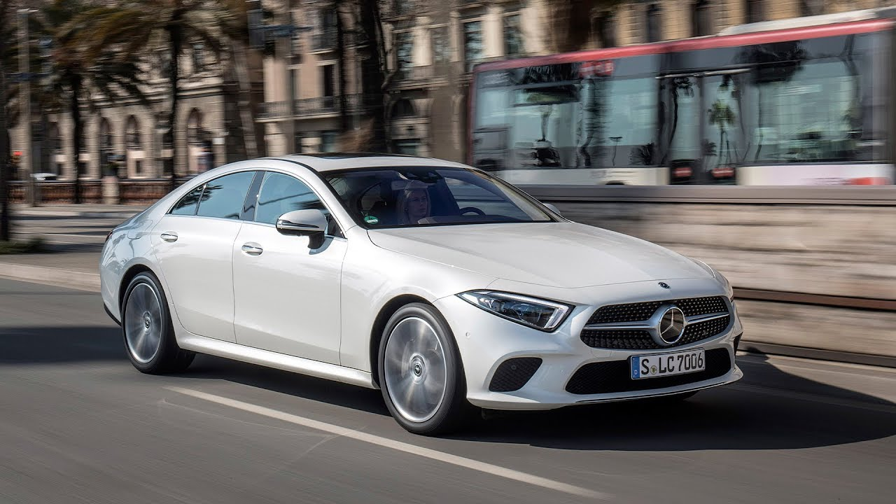 2019 mercedes benz cls 350 d 4matic designo diamond white bright youtube. Black Bedroom Furniture Sets. Home Design Ideas