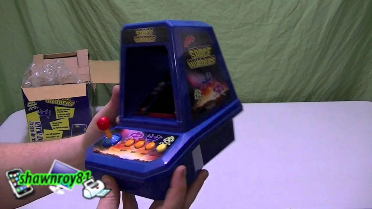 Space Invaders Mini Arcade Classic Youtube