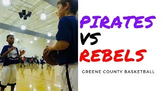 🏀 Pirates vs Rebels | Game 1 Highlights | Greene County Basketball