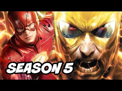 The Flash Season 5 Villain Teaser and Official Synopsis