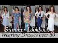 Spring Summer Shopping Haul lookbook DRESSES/Beauty Over 50