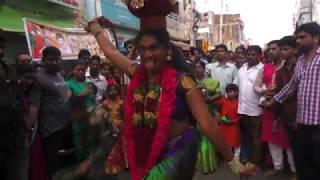 Secunderabad Bonalu 2018 l Jogini Vaishnavi l Jogini Vaishanavi bonam at Ujjaini Mahakali Bonalu