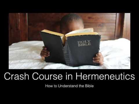 Hermeneutics Crash Course, Part 1 — The Bible is Alien to Us