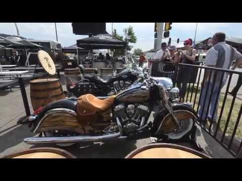 Klock Werks delivers Jack Daniel's Motorcycles in Sturgis 2014
