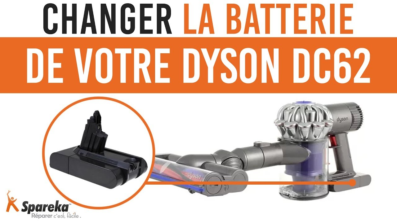 comment changer la batterie de votre dyson dc62 youtube. Black Bedroom Furniture Sets. Home Design Ideas