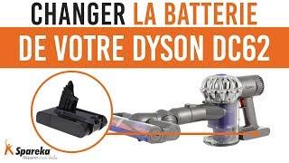 Comment changer la batterie de votre Dyson DC62 ?