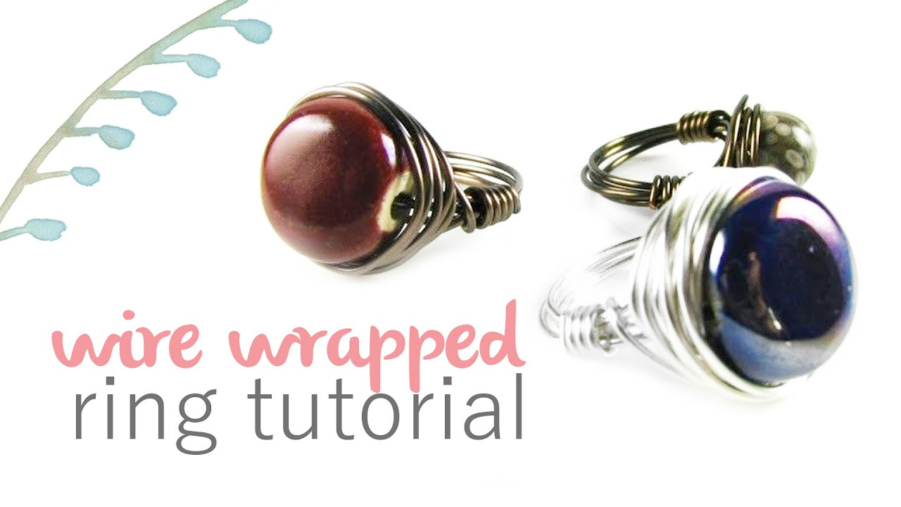 Wire Wrapped Ring Tutorial - YouTube