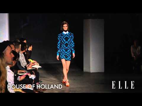 House of Holland - Fashion show - automne hiver 2014 2015