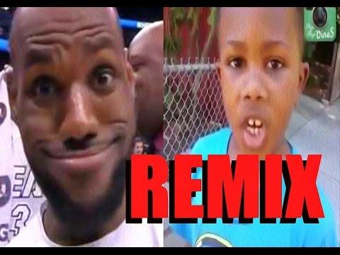 0b7c1490369c Lebron James Vine Kid REMIX - YouTube