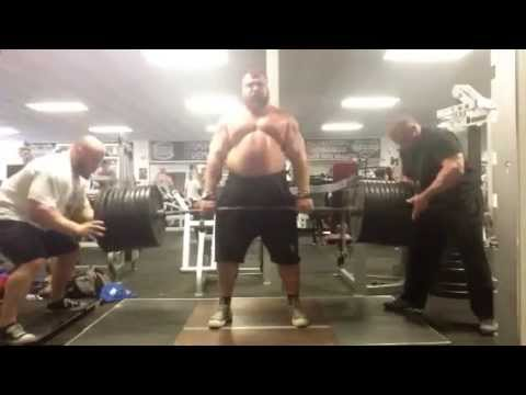 Eddie Hall worlds most impressive deadlifting pyramid set