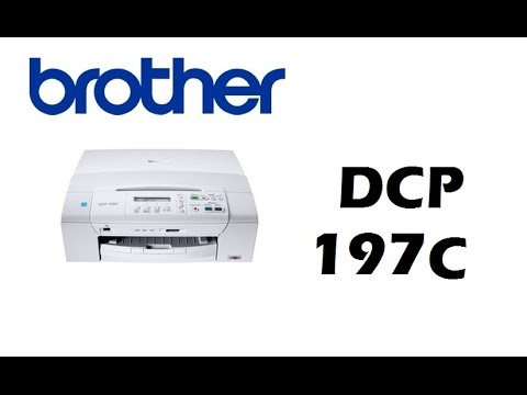 Brother DCP-197C Printer Driver for Windows