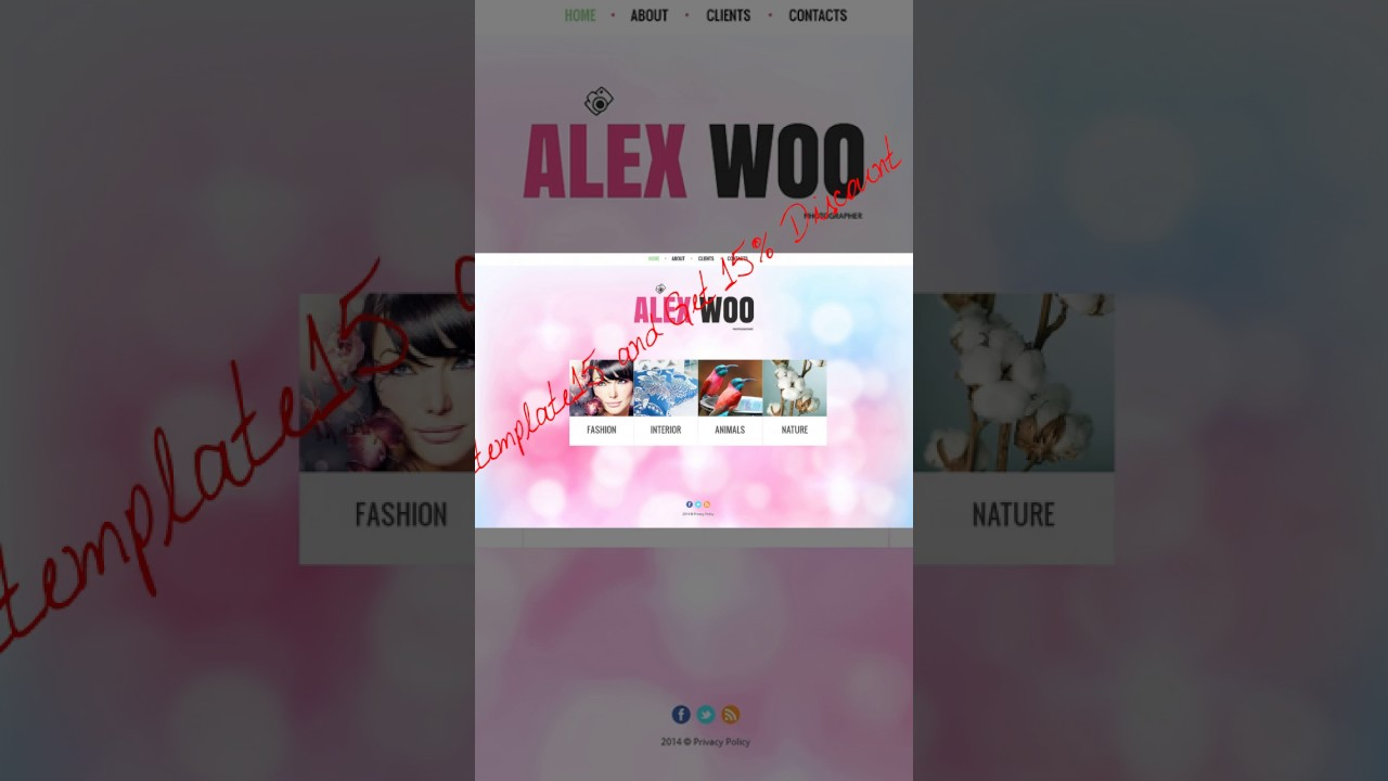 Most Popular Website Template Online Shopping YouTube - Online store privacy policy template