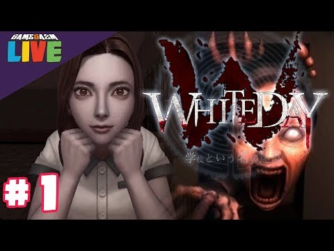 WHITE DAY A Labyrinth Named School PS4 LIVE! Episode 1 - IT BEGINS