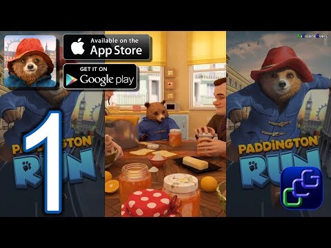Paddington RUN Android iOS Walkthrough - Gameplay Part 1 - Chapter 1