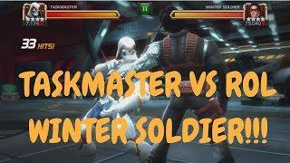 4* TaskMaster VS ROL Winter Soldier! - Marvel Contest Of Champions