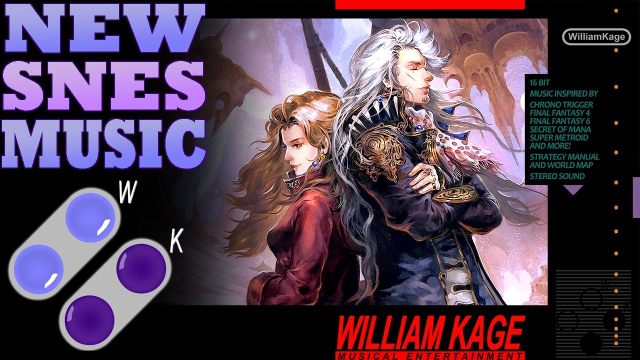 William Kage The Falcon Daryls Theme New SNES Music Final
