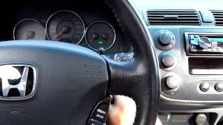 how to 2001 2005 honda civic remote programming