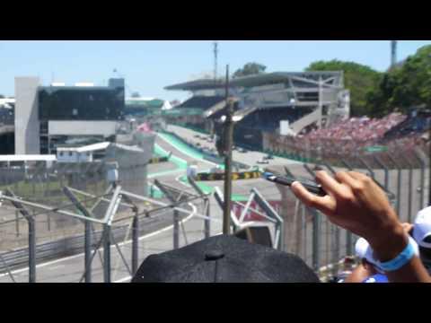 Vuelta Previa F1 GP Brasil 2017, WARM UP