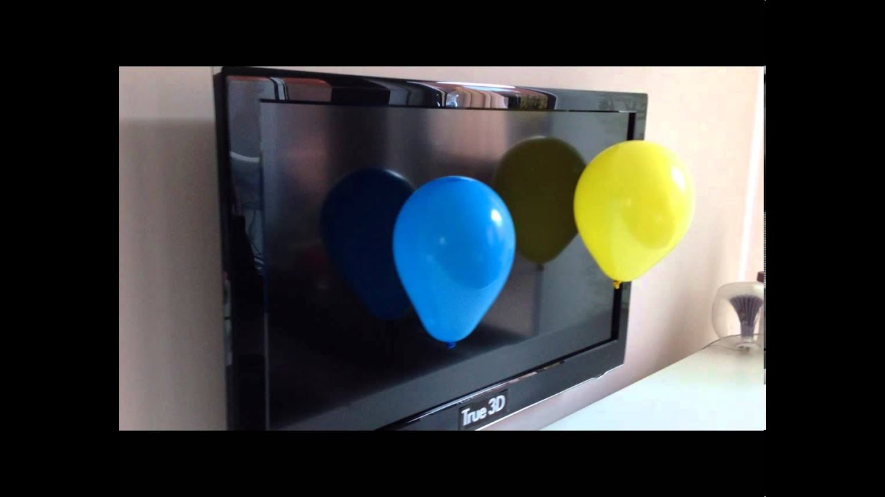 Static electricity funny true 3d tv youtube - Remove static energy ...