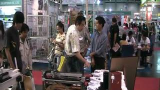 Exhibition of SmartCNCs in Thailand Industrial Fair 2010 #4