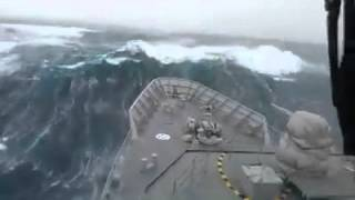 Hard Storm in the Sea - Denizde Fırtına