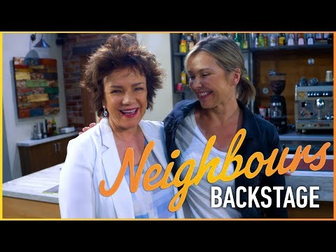 Neighbours Backstage  Lyn Scully's Back!