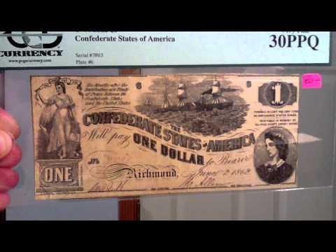 Confederate Paper Money (1862)