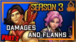 Season 3 Balance - Damages and Flanks (Part 2)