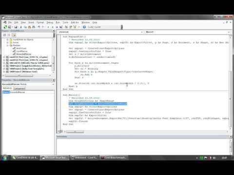 Creating Custom Fonts in CorelDRAW® X6