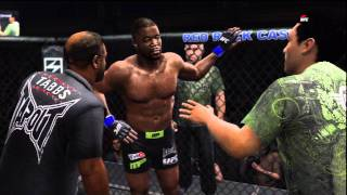 UFC Undisputed 3 Gameplay: Jon Jones vs. Rashad Evans (Cpu vs. Cpu)