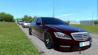 City Car Driving - Mercedes-Benz S65 AMG + (Download link)
